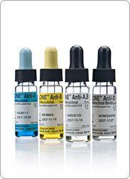 Test nhanh xét nghiệm - Thuốc thử nhóm máu Anti A, B, AB, D