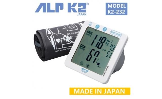 Máy đo huyết áp bắp tay cao cấp ALPK2 K2-232